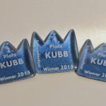 Medallien zum KUBB Turnier
